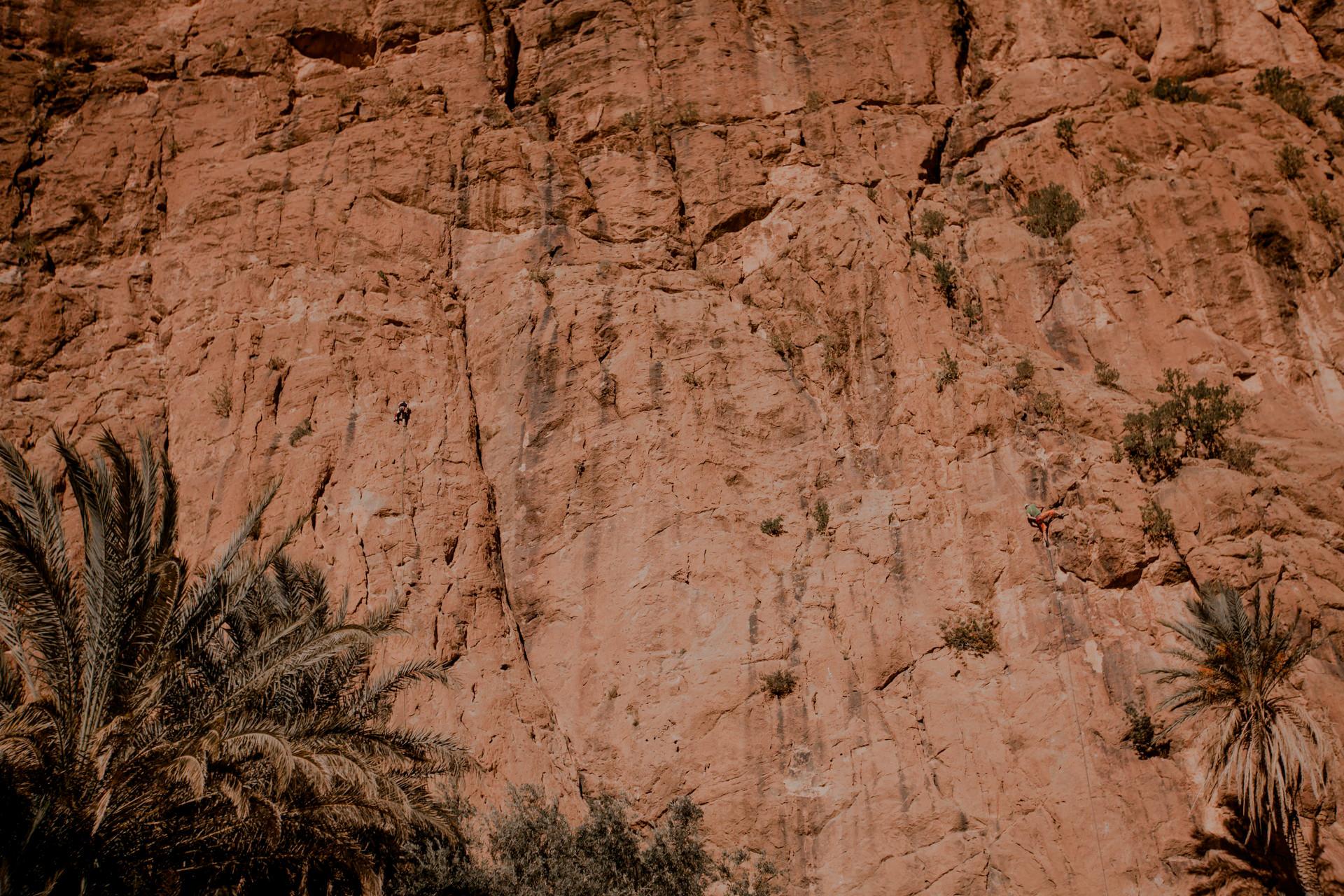 Todra Gorges Maroko wspinaczka