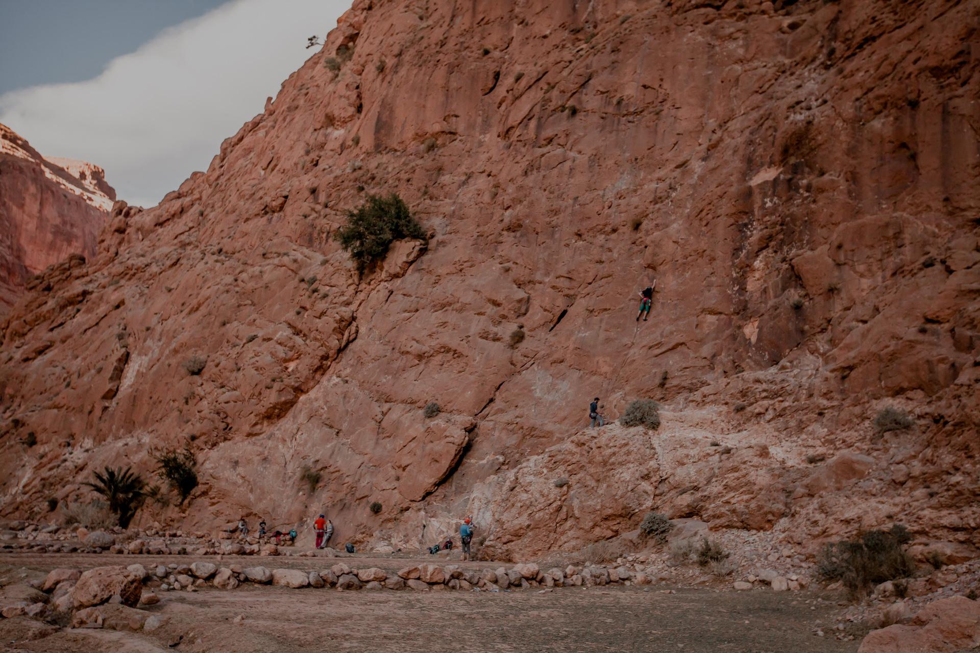 Todra Gorges Maroko