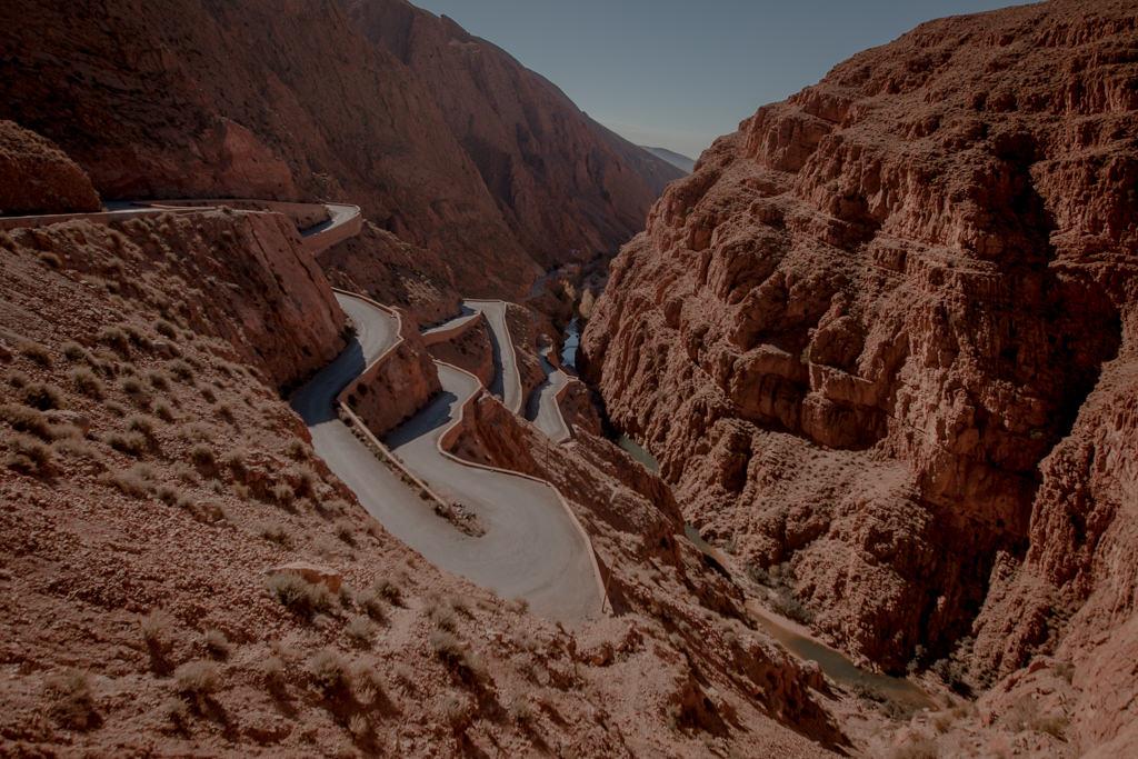 Dades - droga w Maroko
