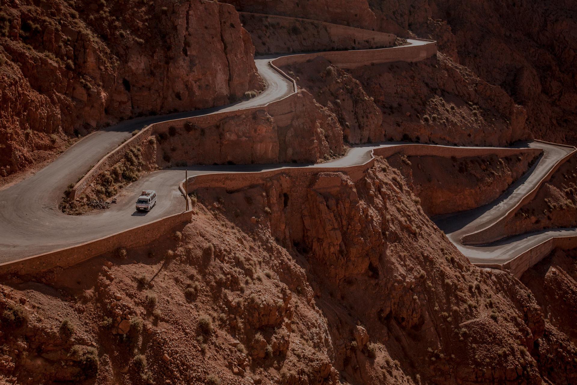 Dades Gorge Maroko