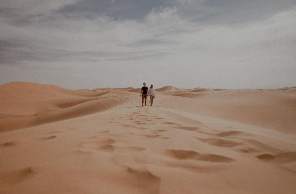 Erg Chebbi - Sahara. Maroko