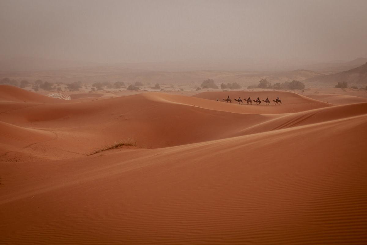 Erg Chebbi, Sahara - Maroko