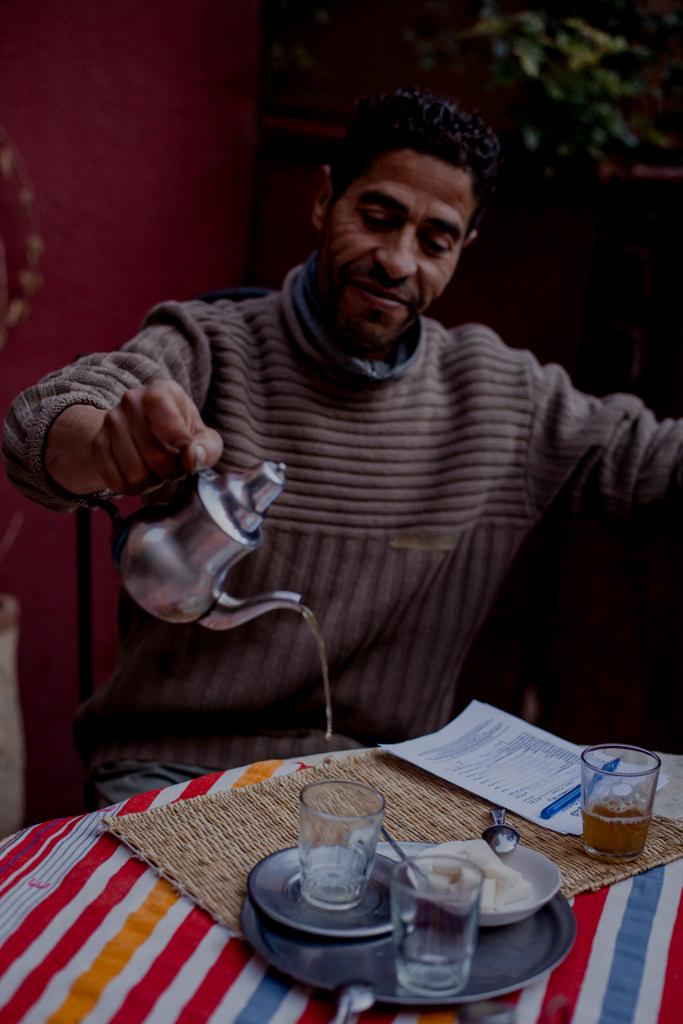 Marokańska herbata