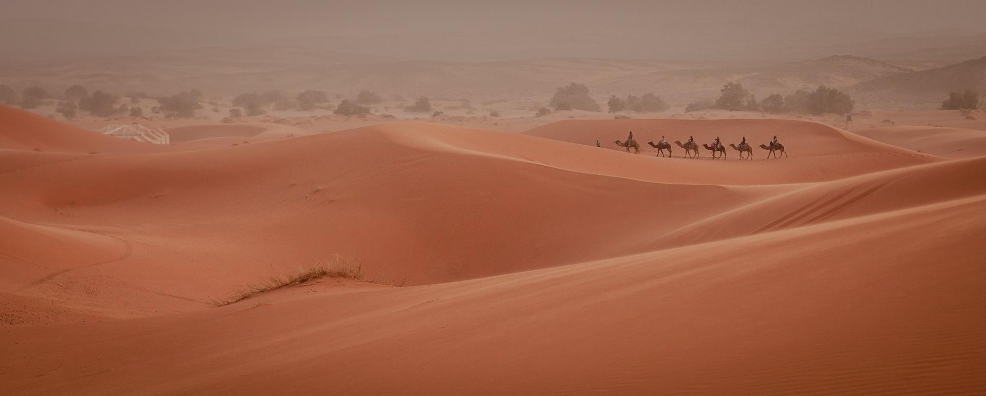 Maroko, wycieczki na Saharę, Erg Chebbi