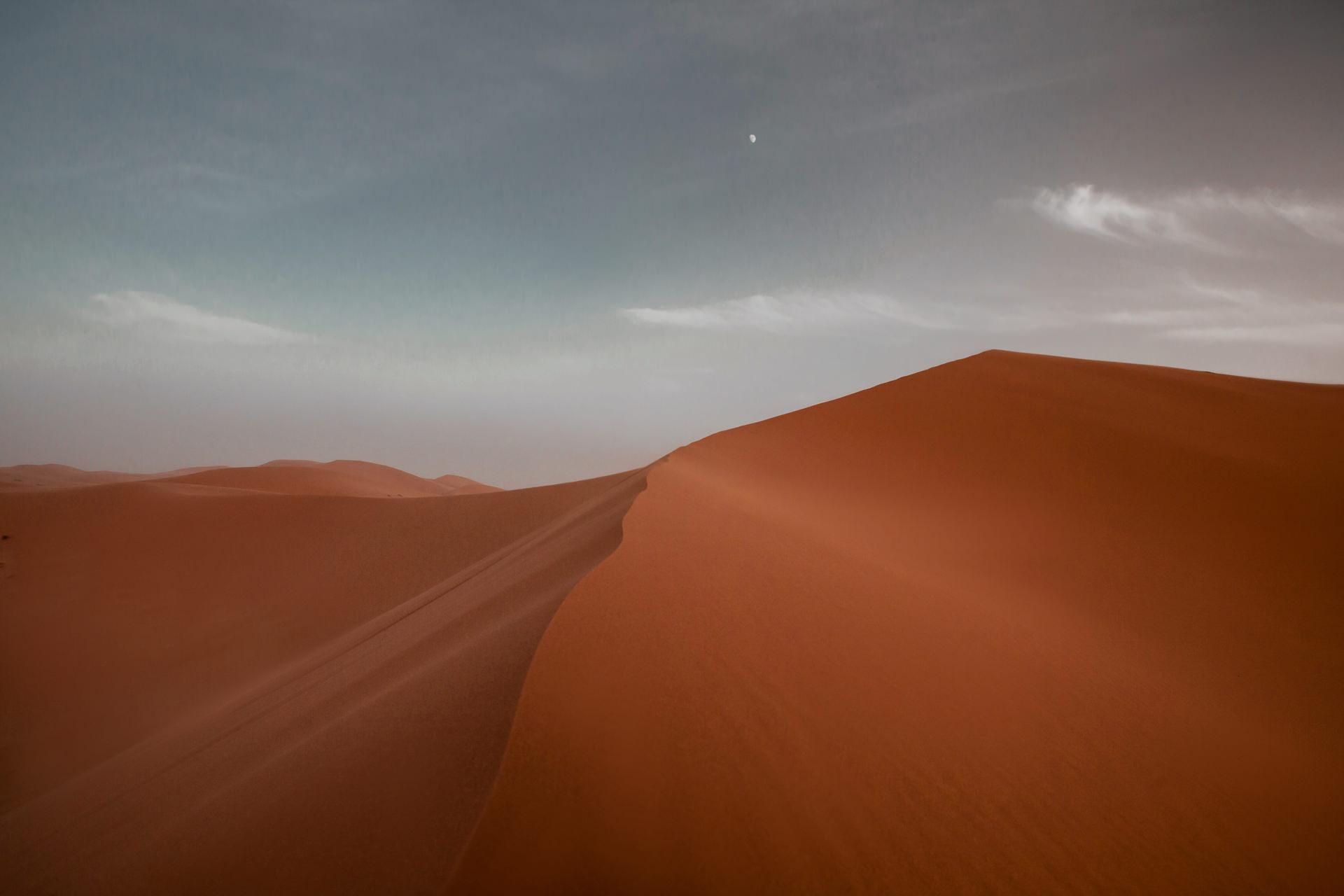 Sahara - najpiękniejsze wydmy Erg Chebbi