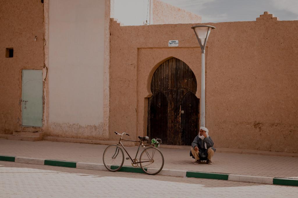 Merzouga w Maroko