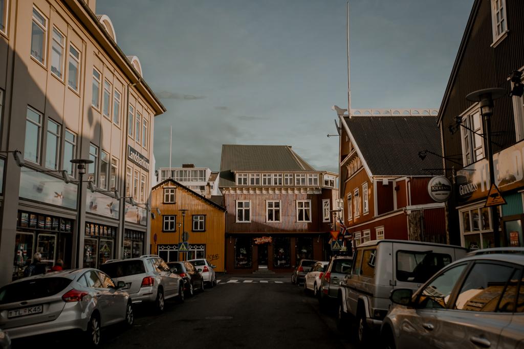 Islandia - Reykjavik. Noclegi na Islandii