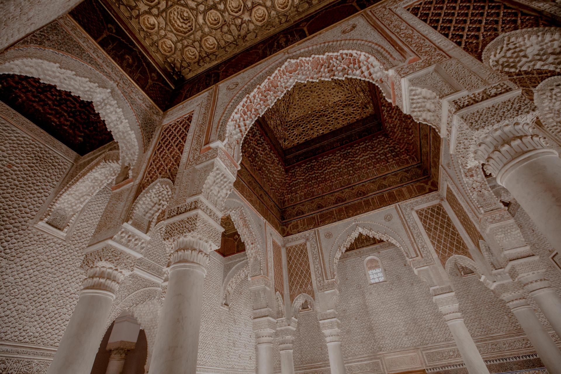 Grobowce Saadytów, atrakcje Marrakeszu