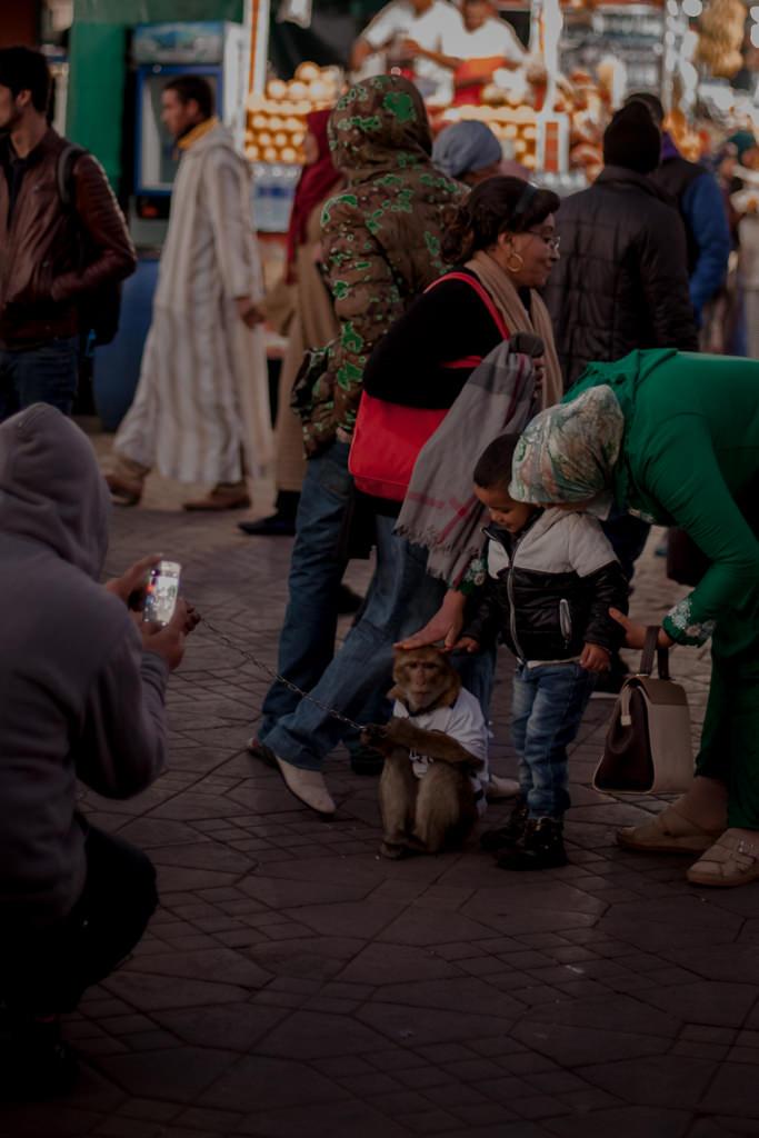 Plac Jemaa Al Fina. Marrakesz. medina