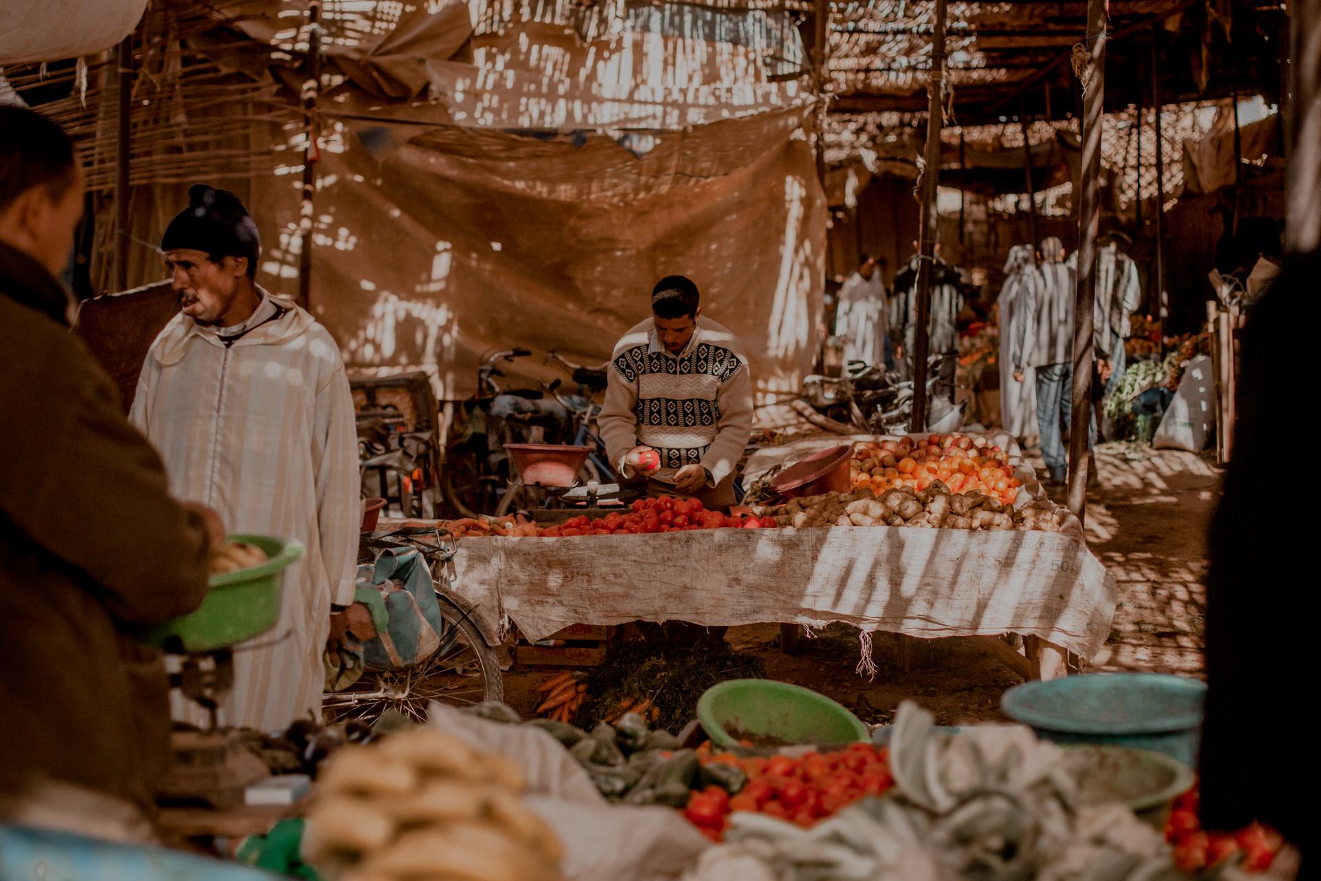 Maroko - co warto zobaczyć, atrakcje, suki, Ar Rissani