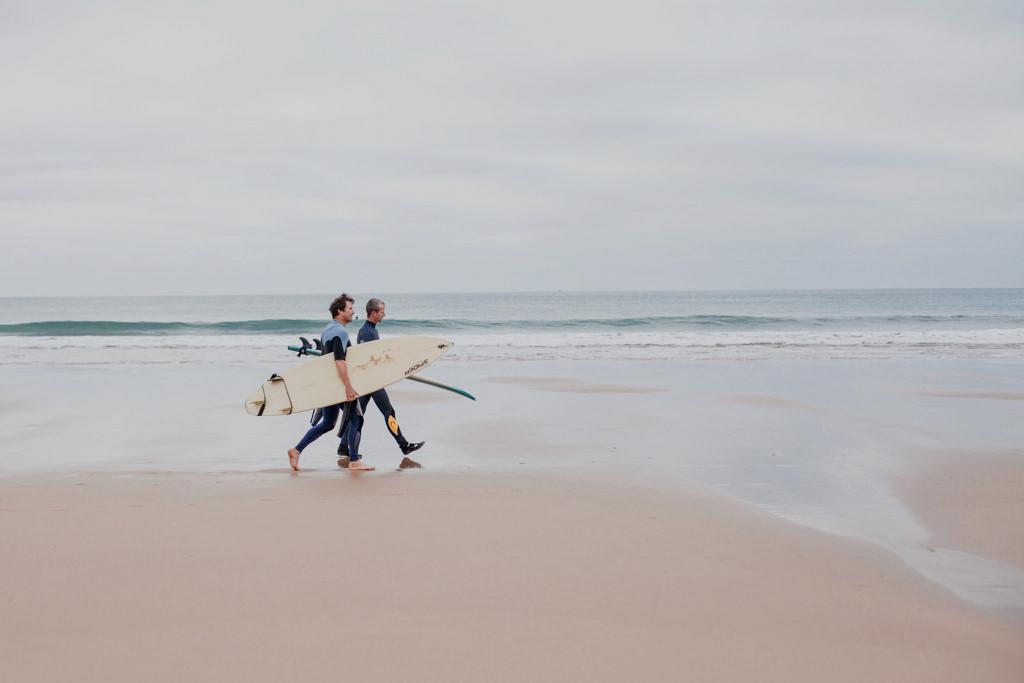 Surfing - Portugalia, Nazare