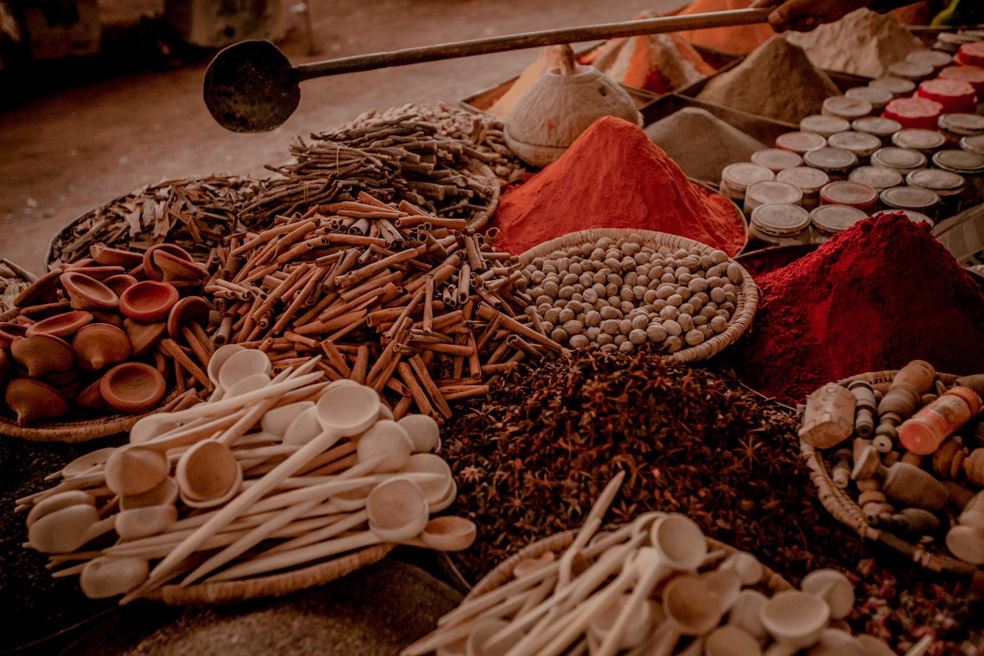 Maroko - przyprawy