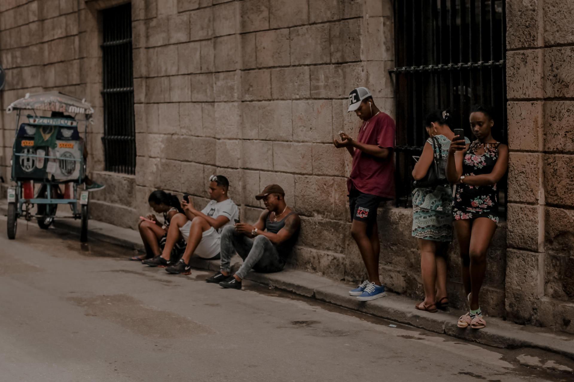 Kuba - internet