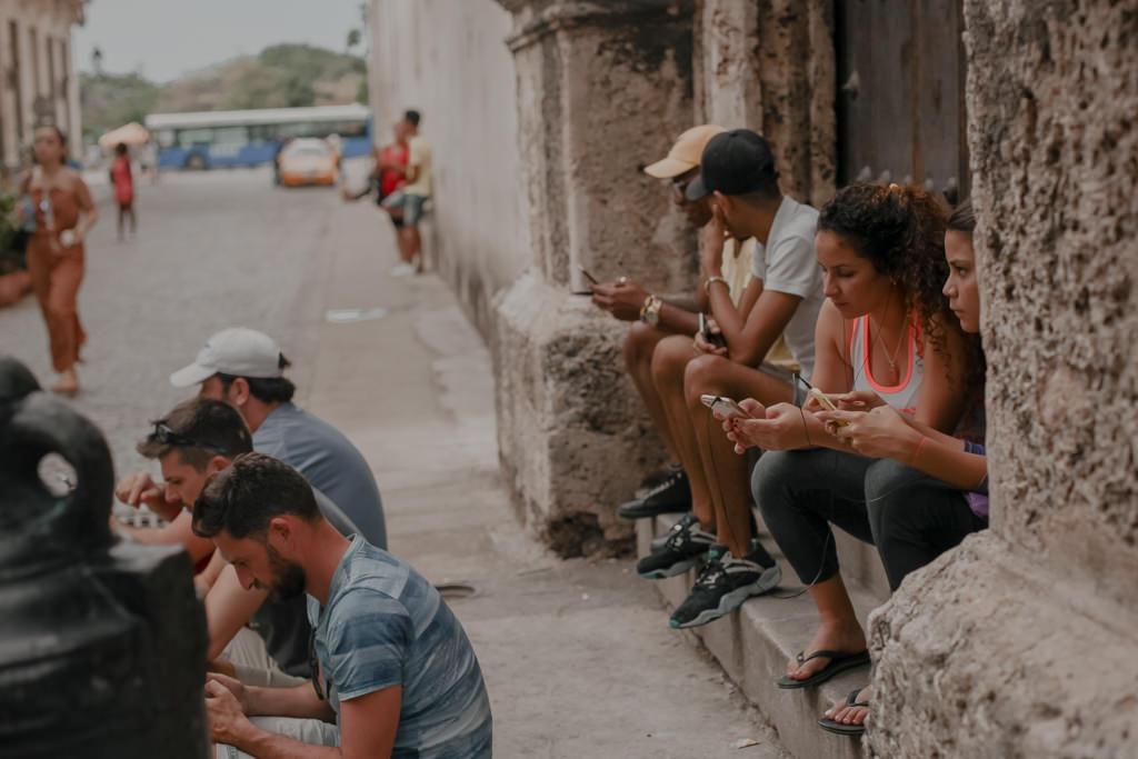 Wyspa Kuba - internet na Kubie