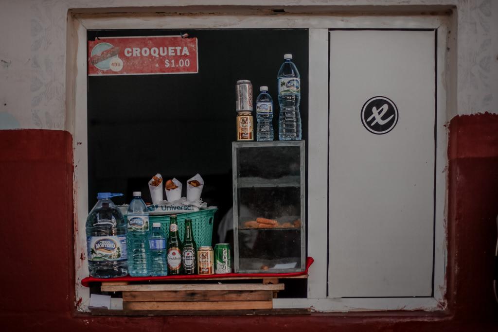Kuba - jedzenie na wyspie