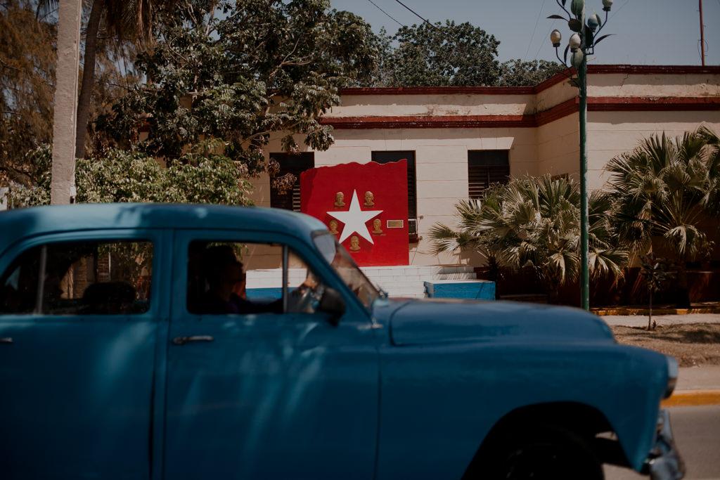 Wyspa Kuba i stare auta