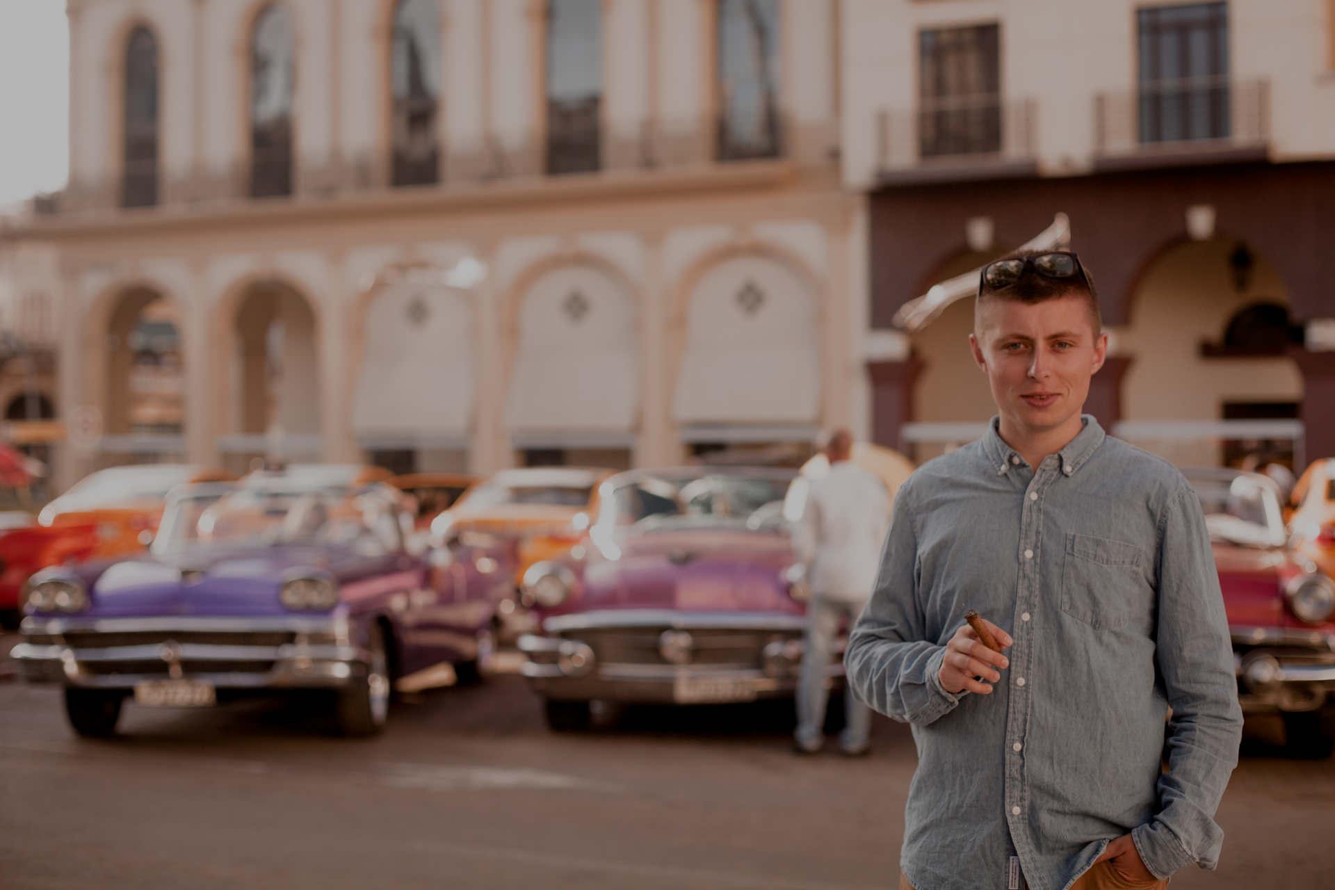 Wyspa Kuba - zabytkowe auta