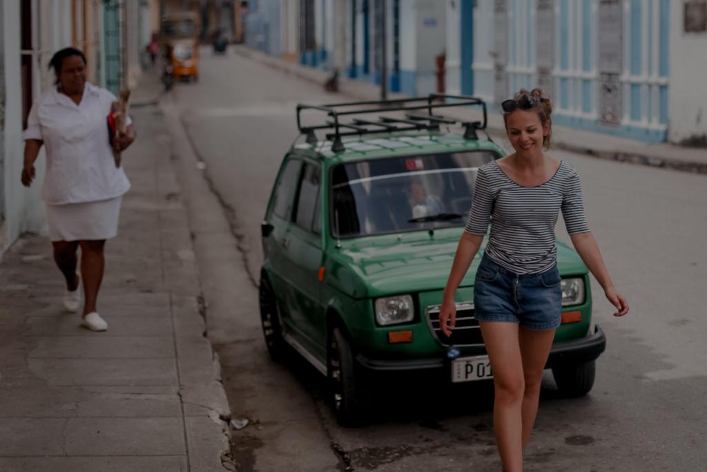 Maluchy polaquito na Kubie
