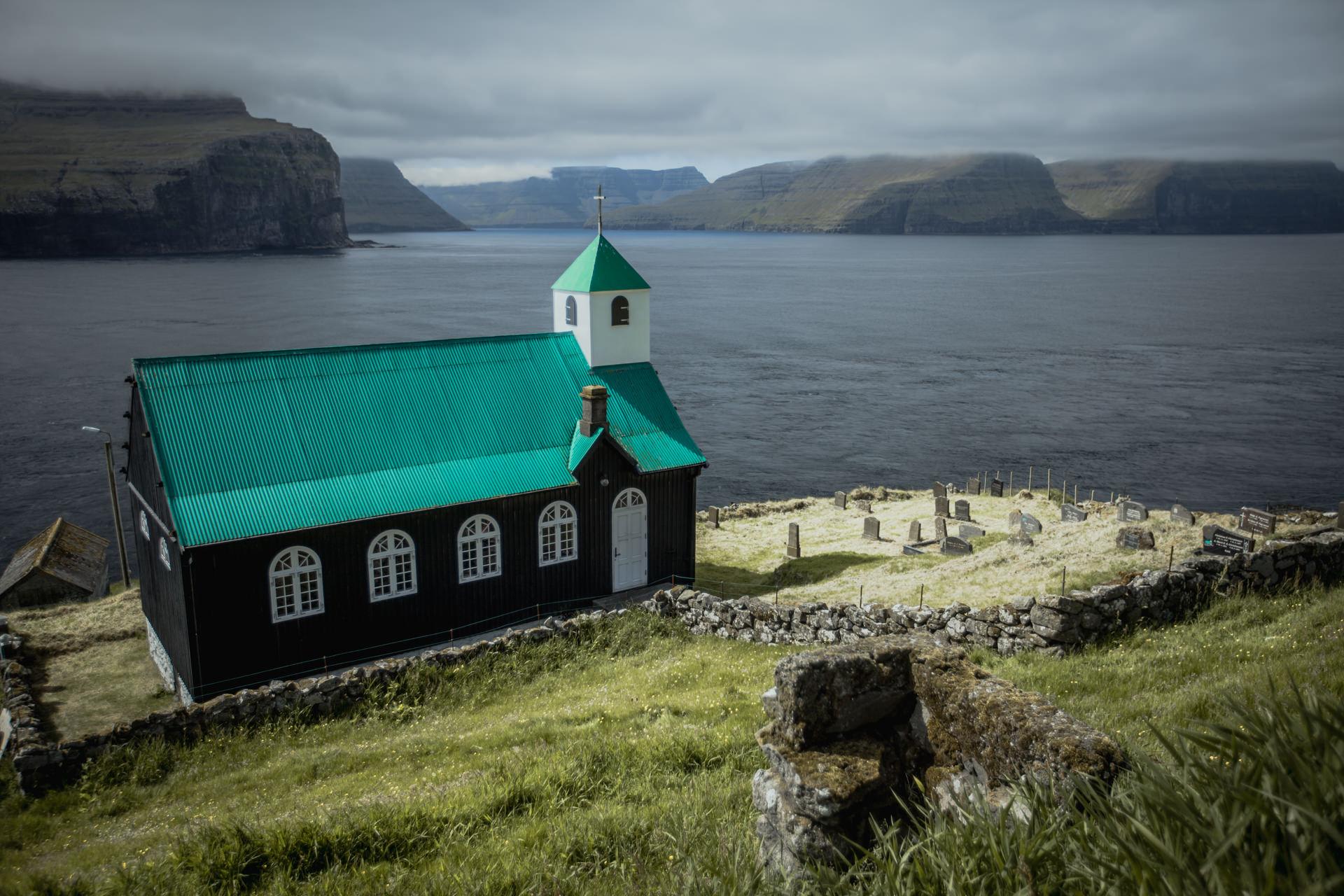 Wyspa Fugloy Kirkja