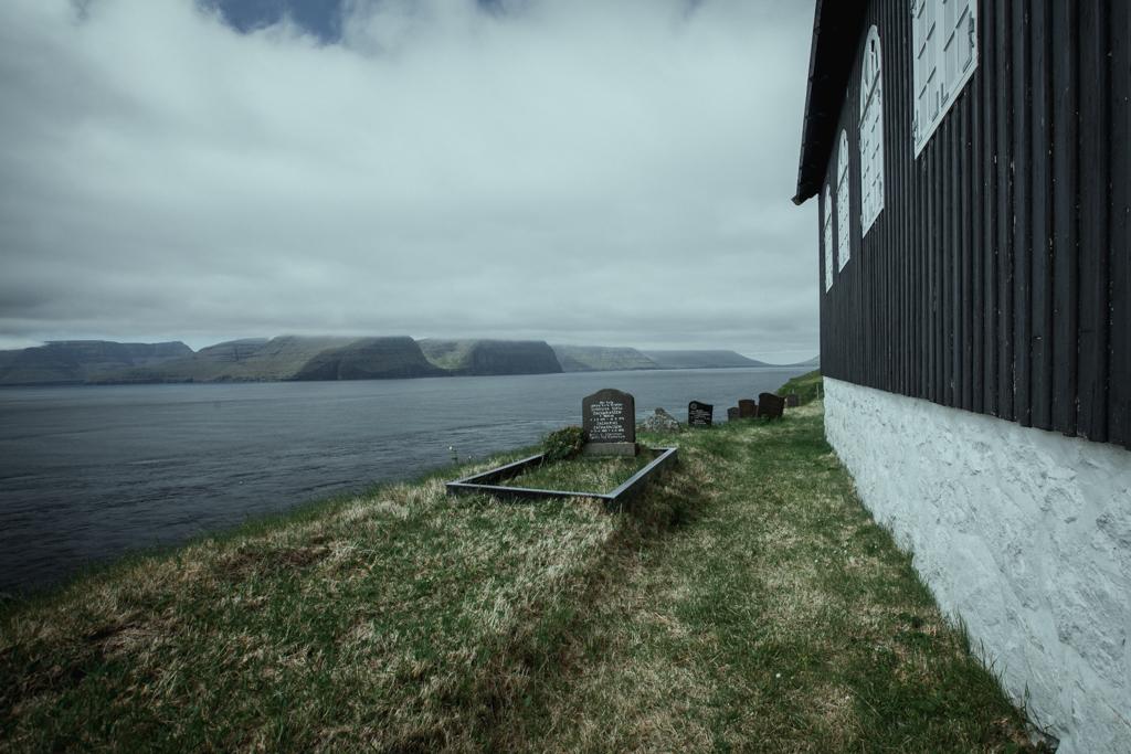 Wyspa Fugloy - Kirkja