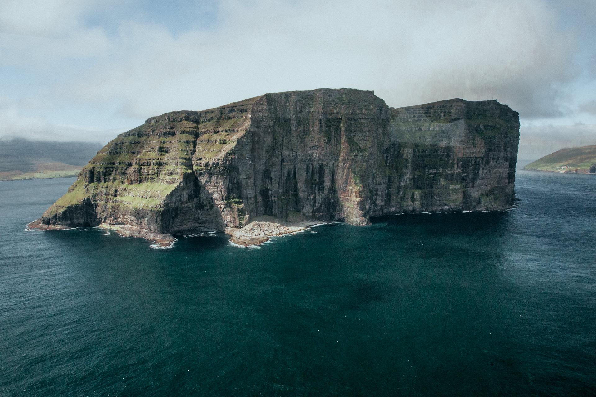 Wyspy Owcze- helikopter