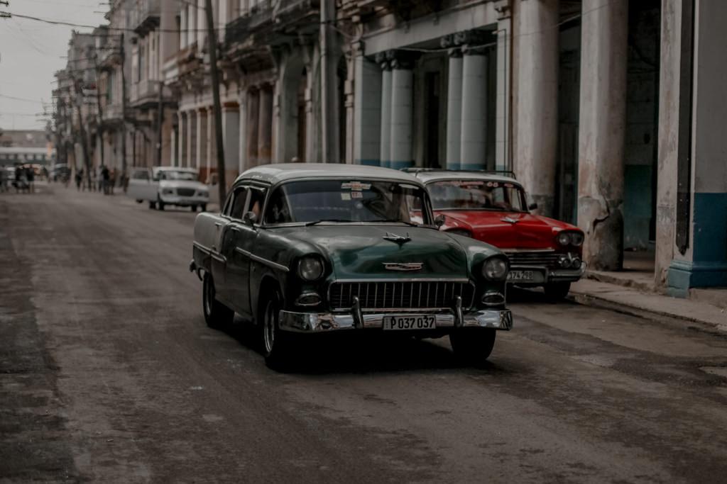 Kuba - stare auta