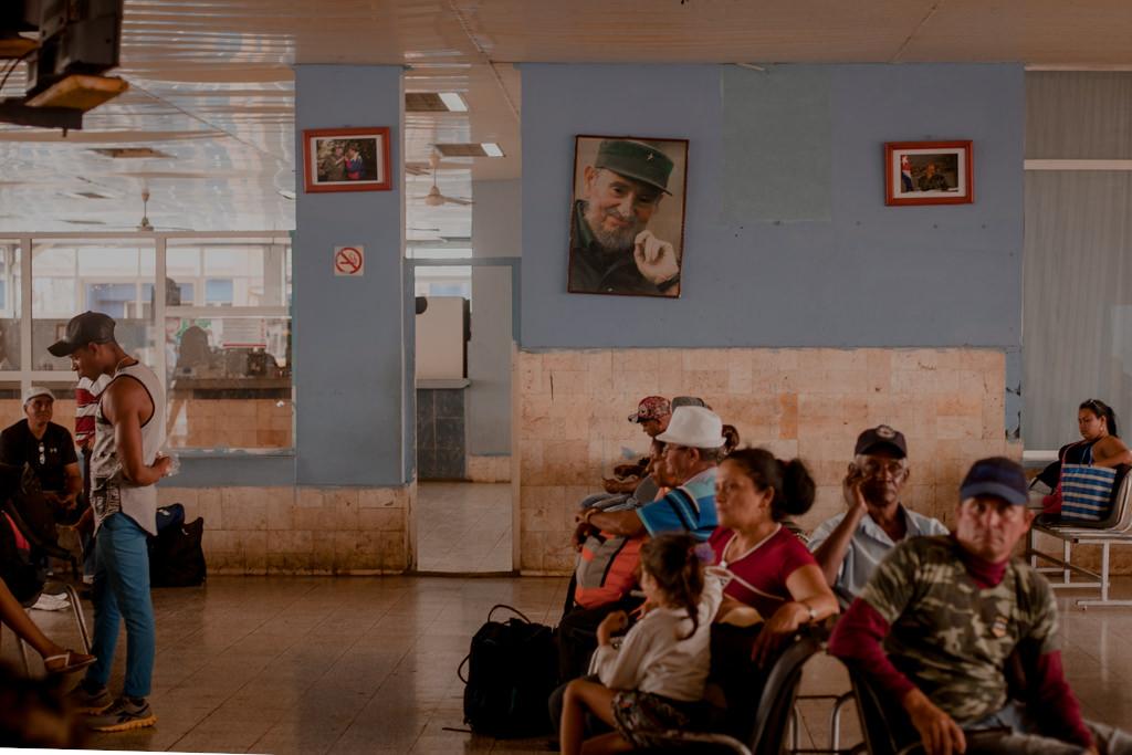 Kuba - dworzec autobusowy
