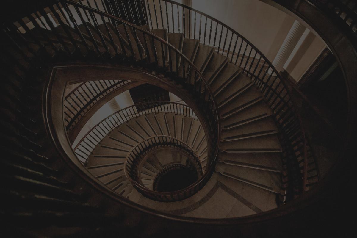 Nowa Huta - schody