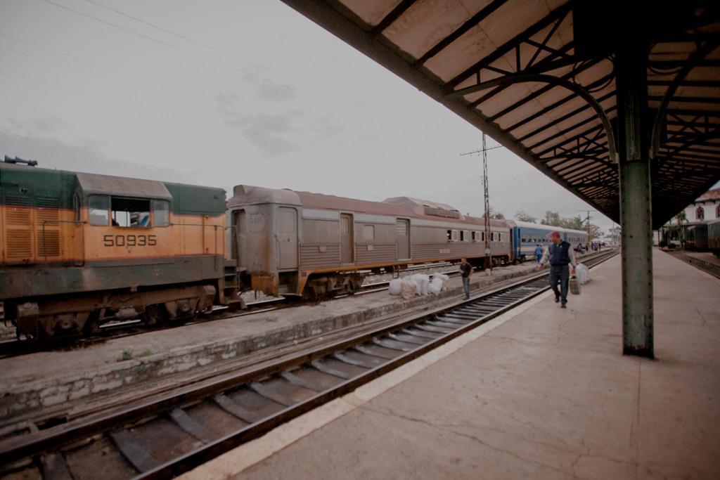 Kuba - pociągi, transport po wyspie