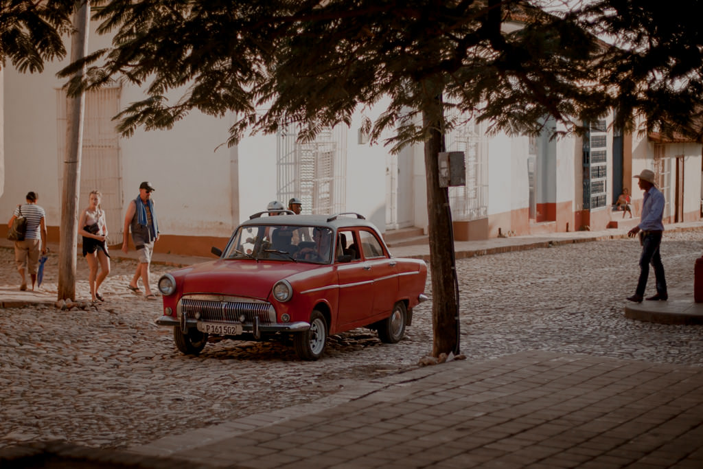 Trinidad - stare auta