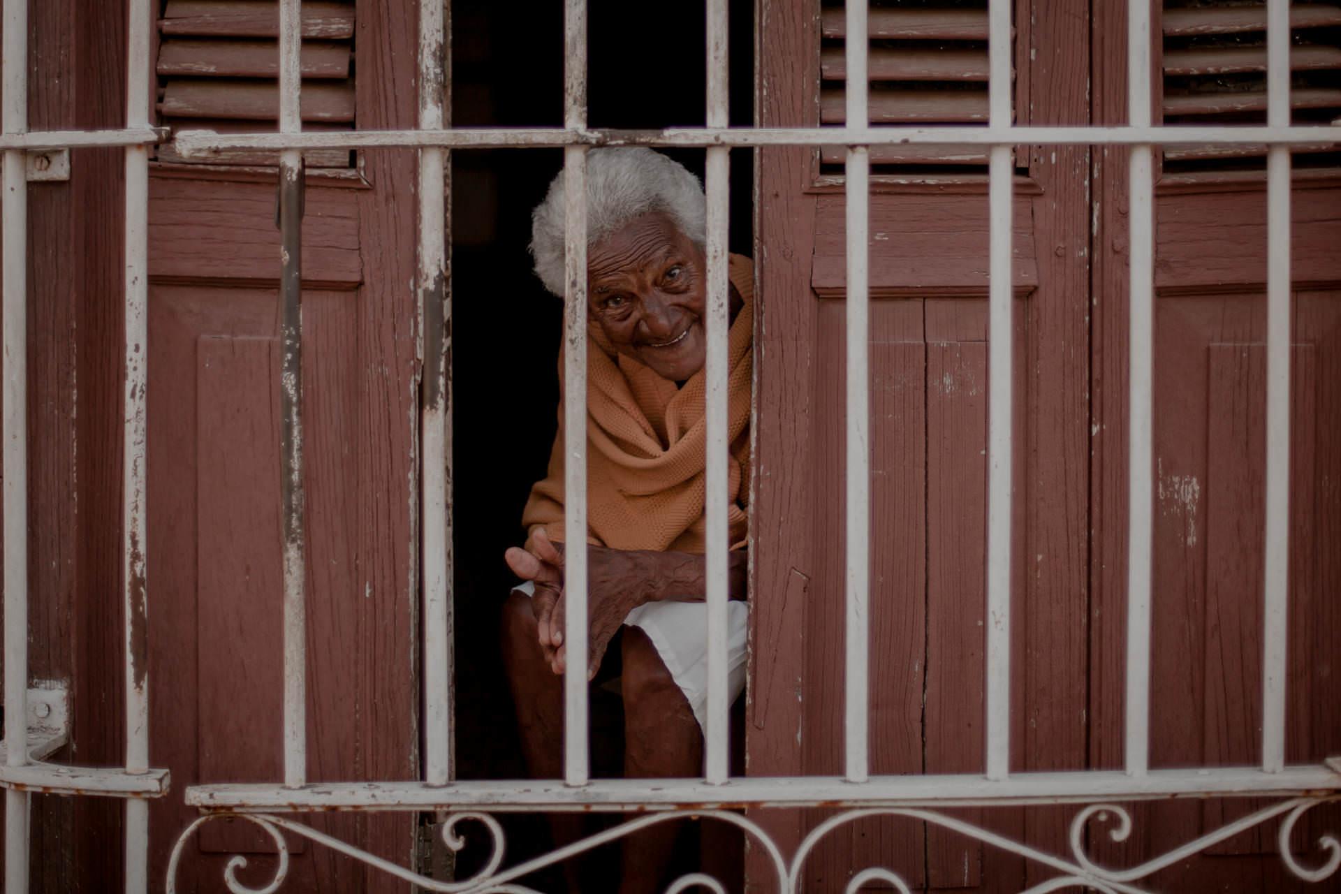 Trinidad - ludzie, życie uliczne