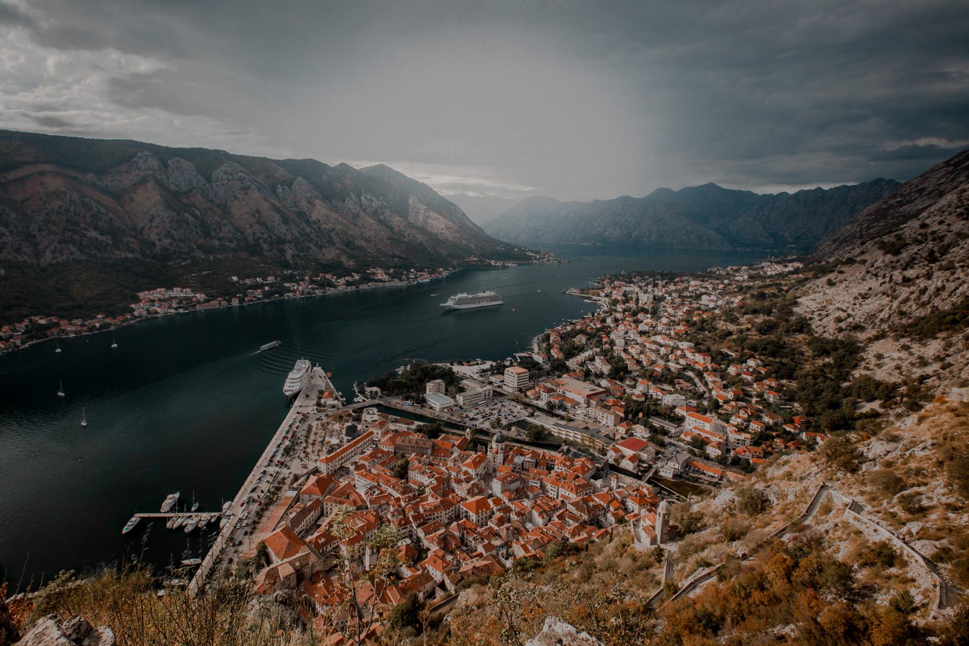 Zatoka Kotorska - Kotor Czarnogóra