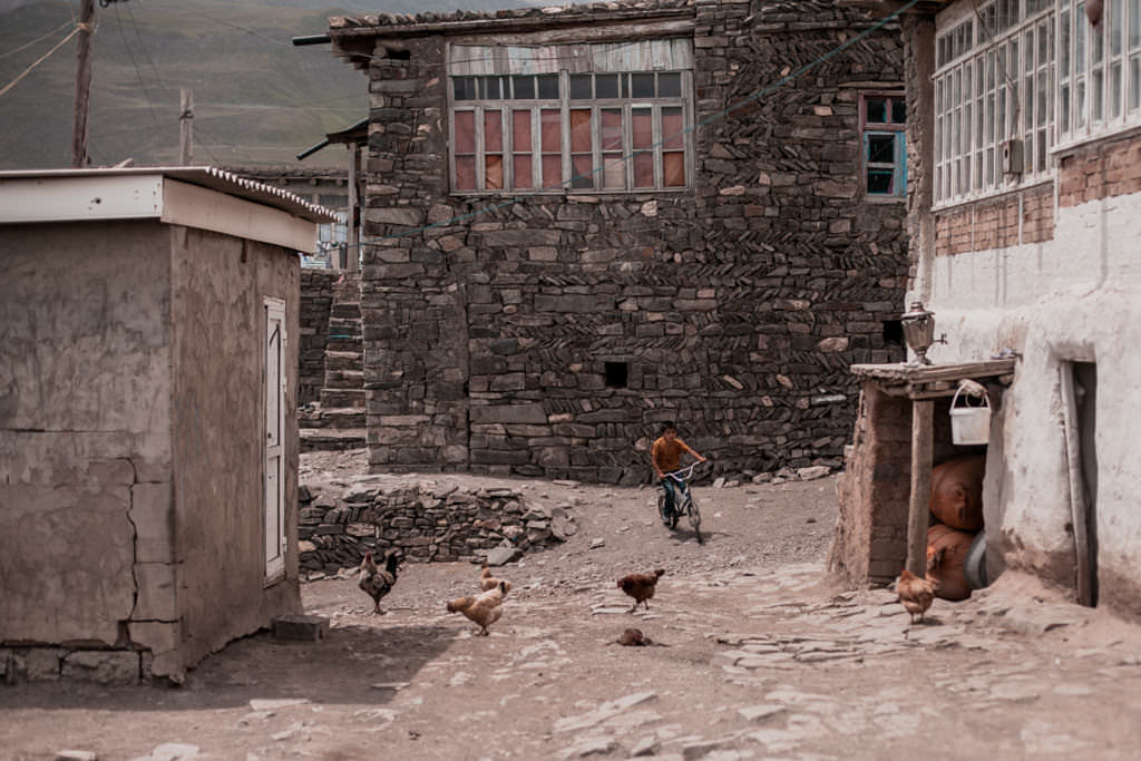 Azerbejdżan - Xinaliq - Hinalug