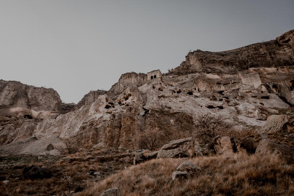Skalne miasto Wardzia Gruzja