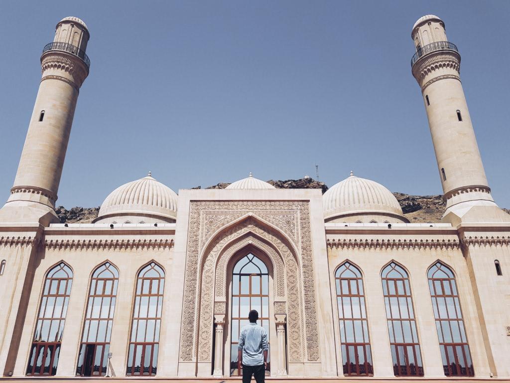 Baku - meczet Bibi Heybat
