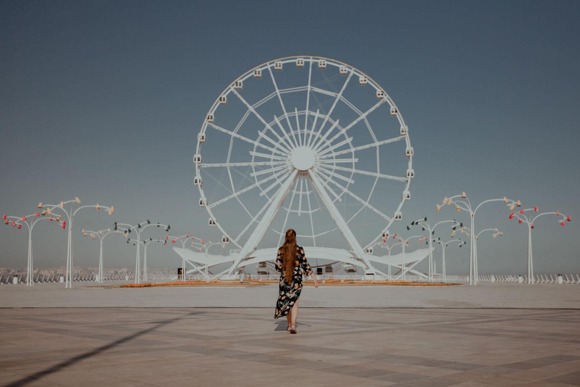 Promenada w stolicy azerbejdżanu