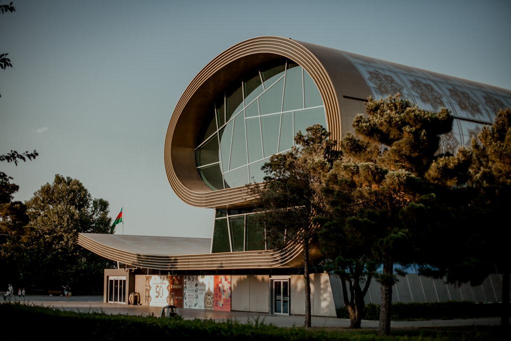 Baku - muzeum dywanów