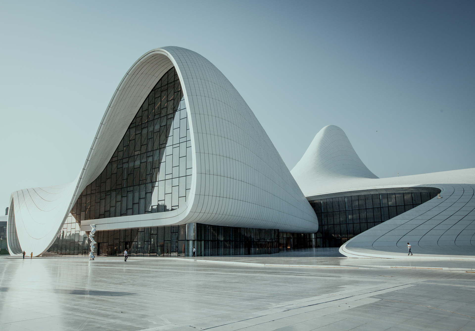 Baku futurystyczne budowle