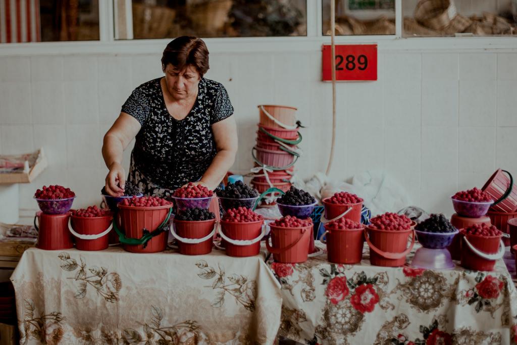 Bazar w Baku
