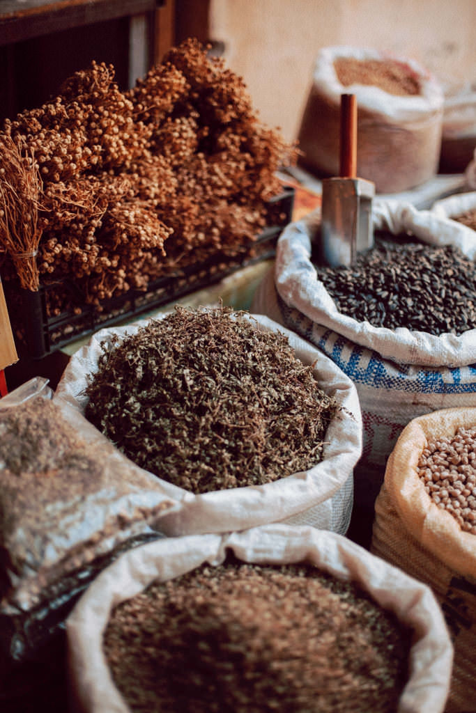 Baku - kuchnia, przyprawy. Azerbejdżan