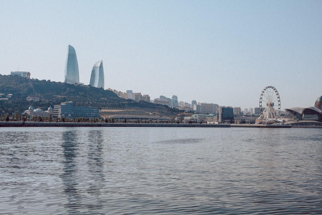 Baku - nowoczesne miasto