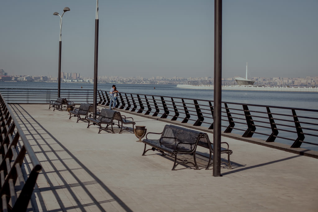 Promenada w Baku