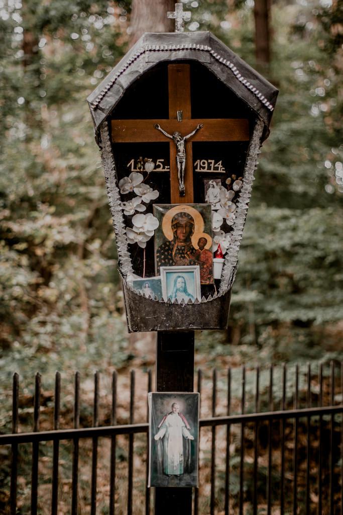 Puszcza Niepołomicka - kapliczka