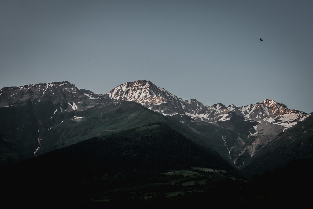 Góry - Mestia, Swanetia - Gruzja