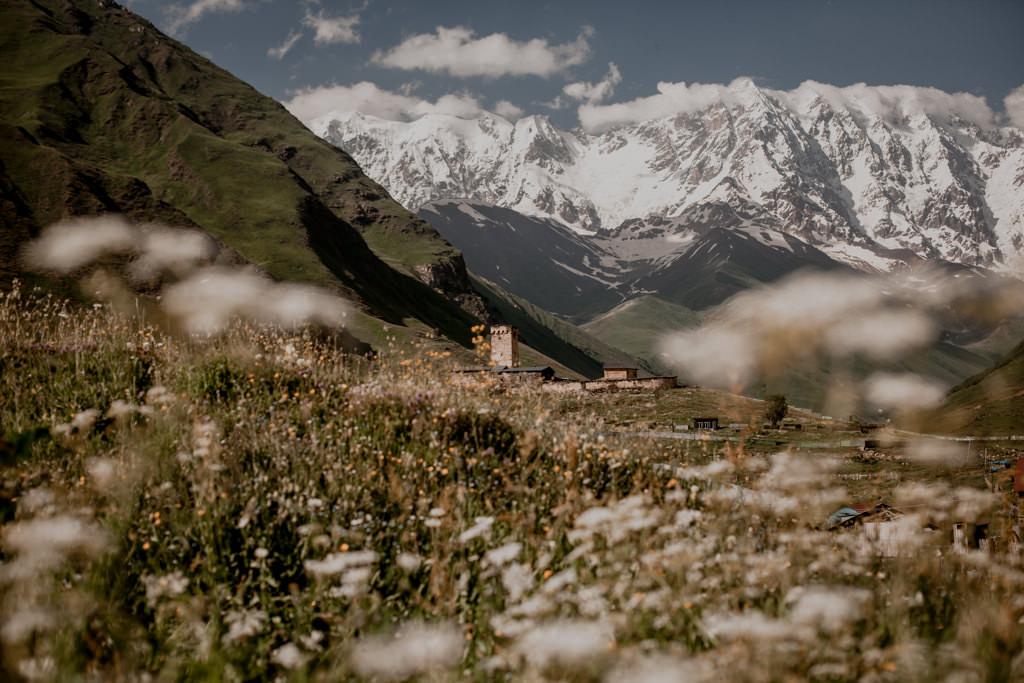 Szchara, góry w Gruzji