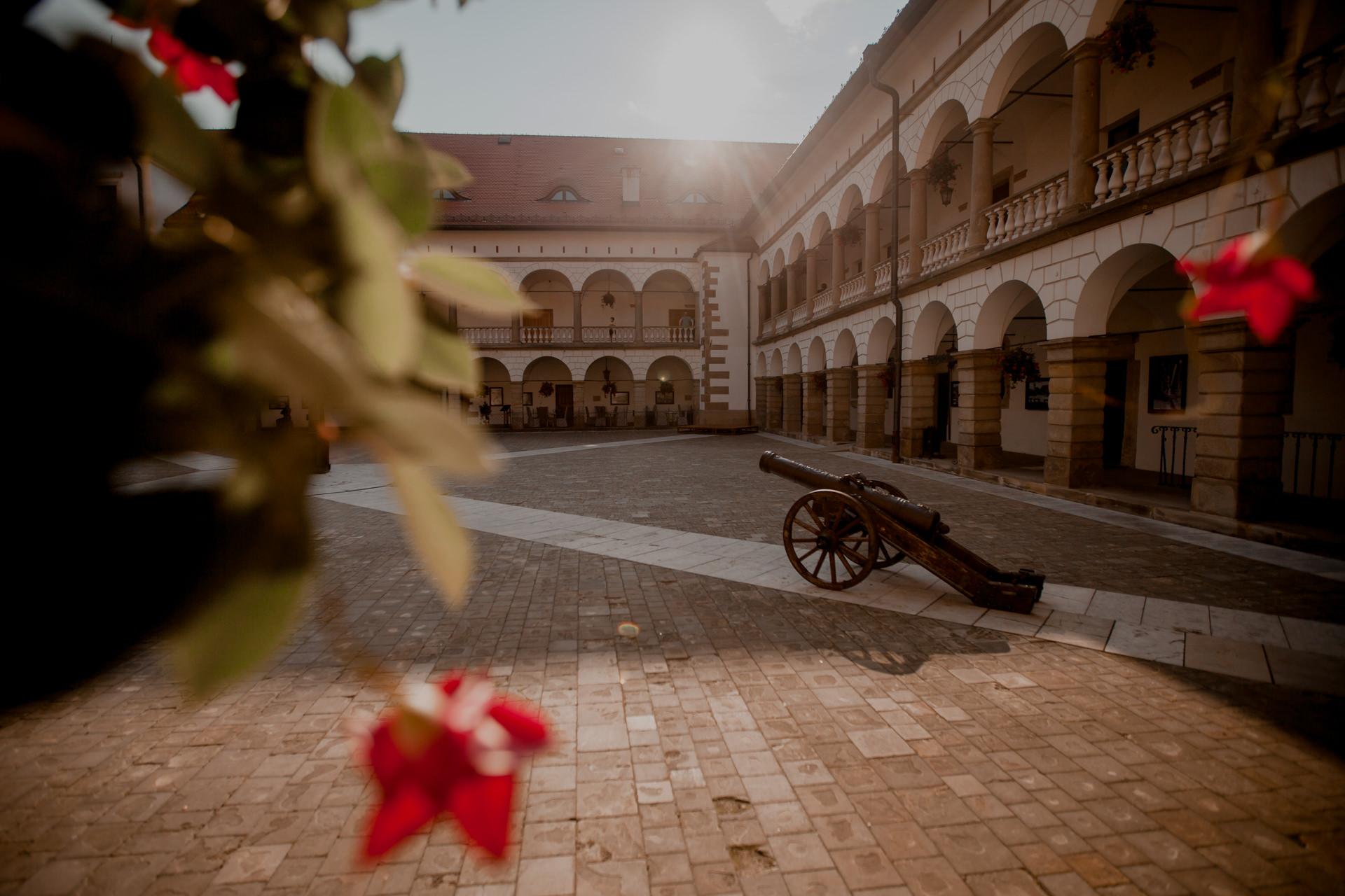 Zamek w Niepołomicach - historia