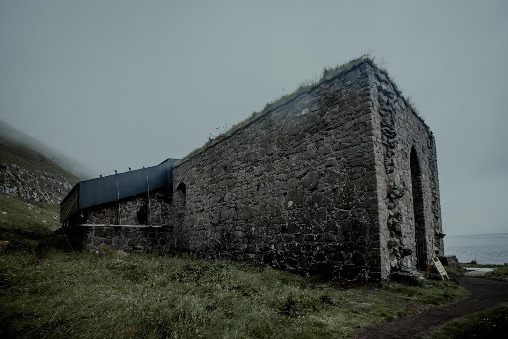 Wyspy Owcze, Kirkjubour. Katedra Magnusa
