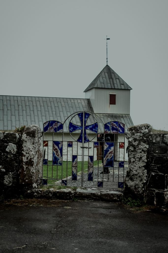 Wyspy Owcze - kościół Olava w Kirkjubour