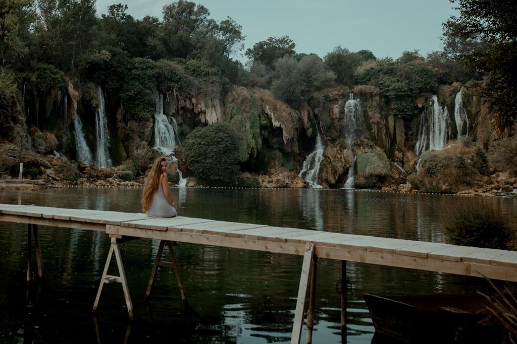 Wodospady Kravica. Bośnia i Hercegowina - ciekawe meijsca