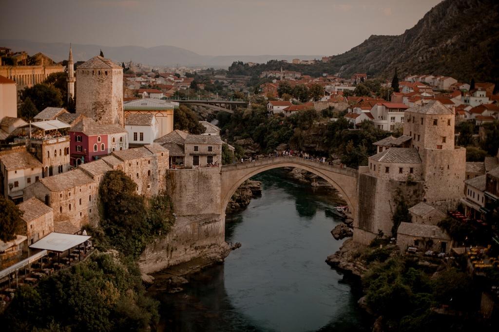 Mostar - piękny Stary Most